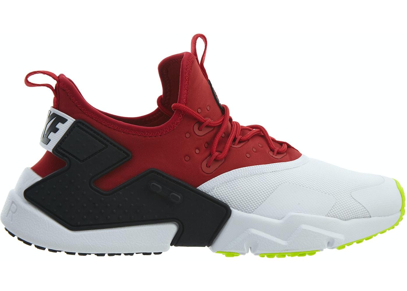 orgánico Avanzar Enfermedad  Nike Air Huarache Drift Gym Red White-Black-Volt - AH7334-601