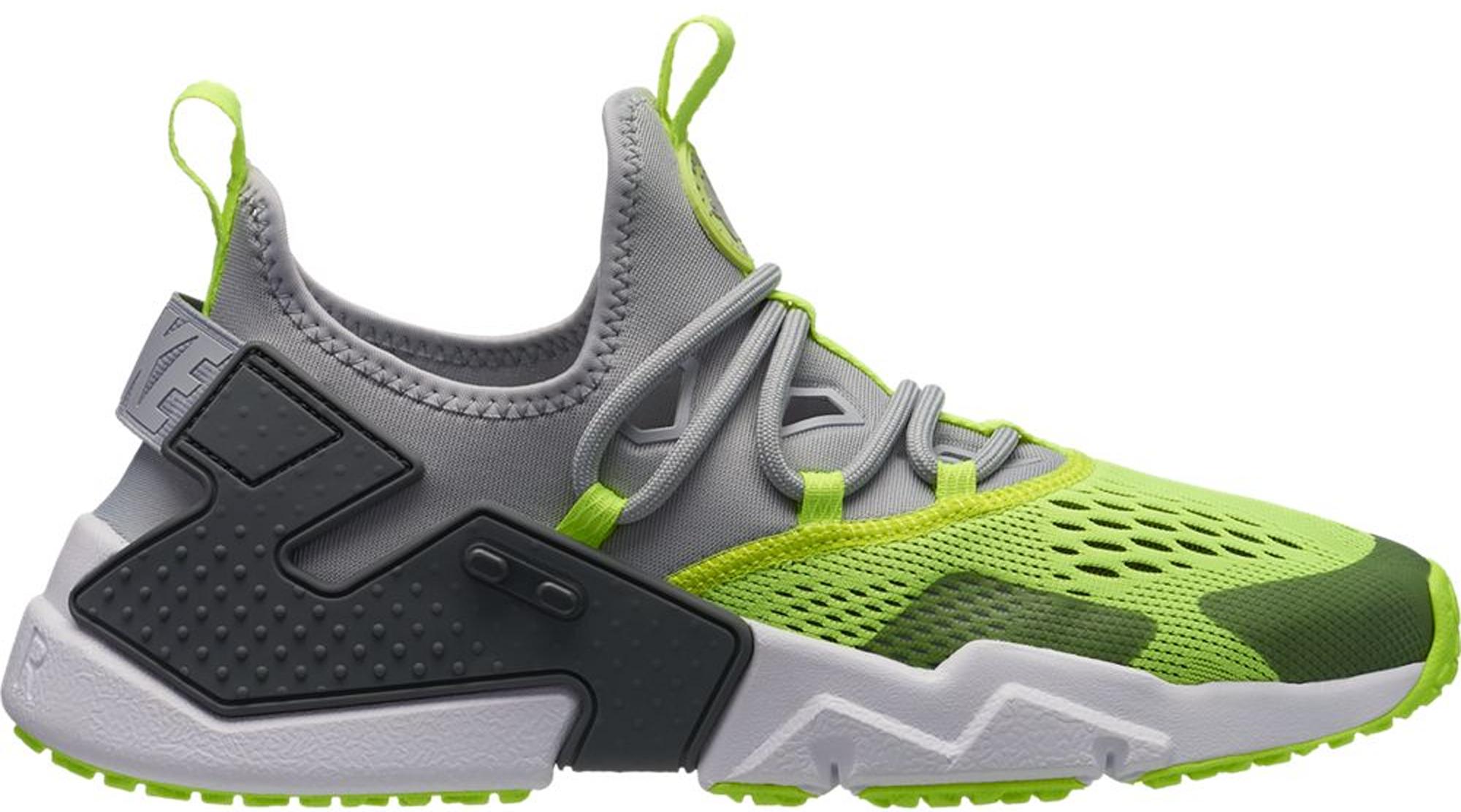 Nike Air Huarache Drift Wolf Grey Volt