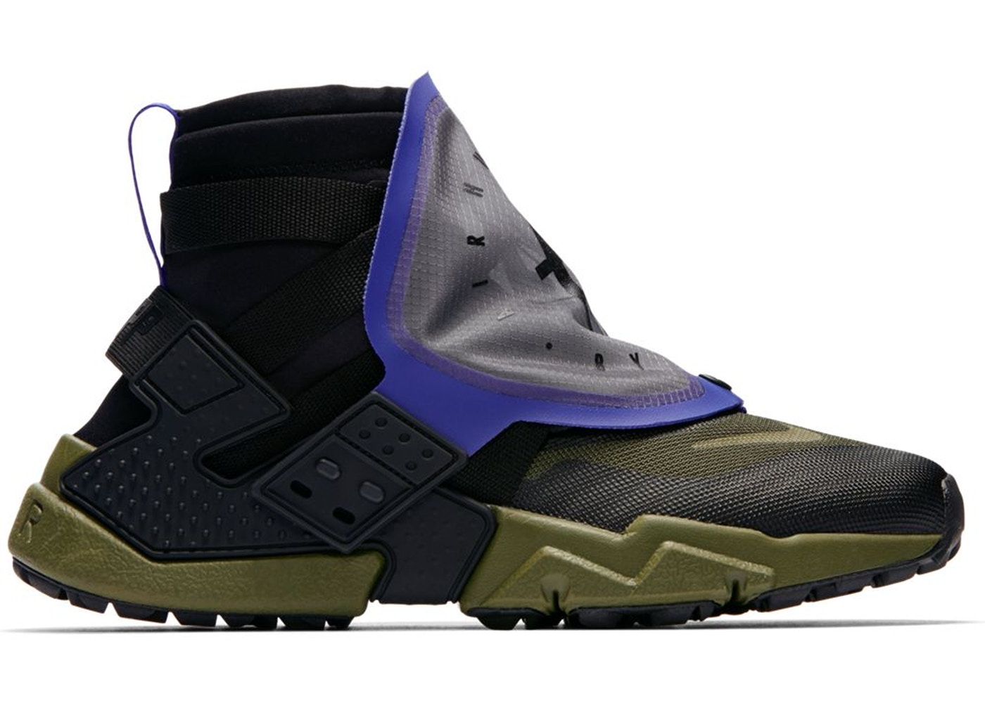 7f3df152e6c89 Air Huarache Gripp Black Olive Canvas - AT0298-001