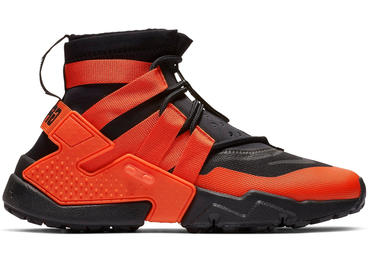 8f2160d64fb9b0 Air Huarache Gripp Black Team Orange - AO1730-001