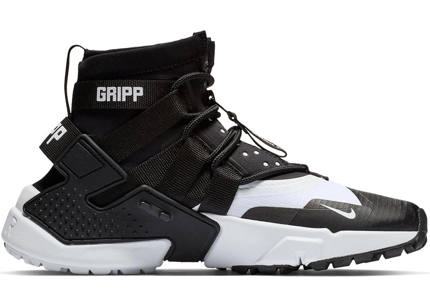 Nike Air Huarache Gripp Black White
