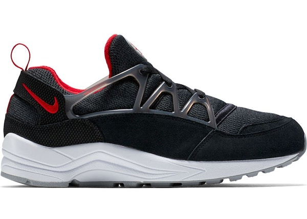 best website 98989 8209b Air Huarache Light Black University Red Wolf Grey - 306127-006