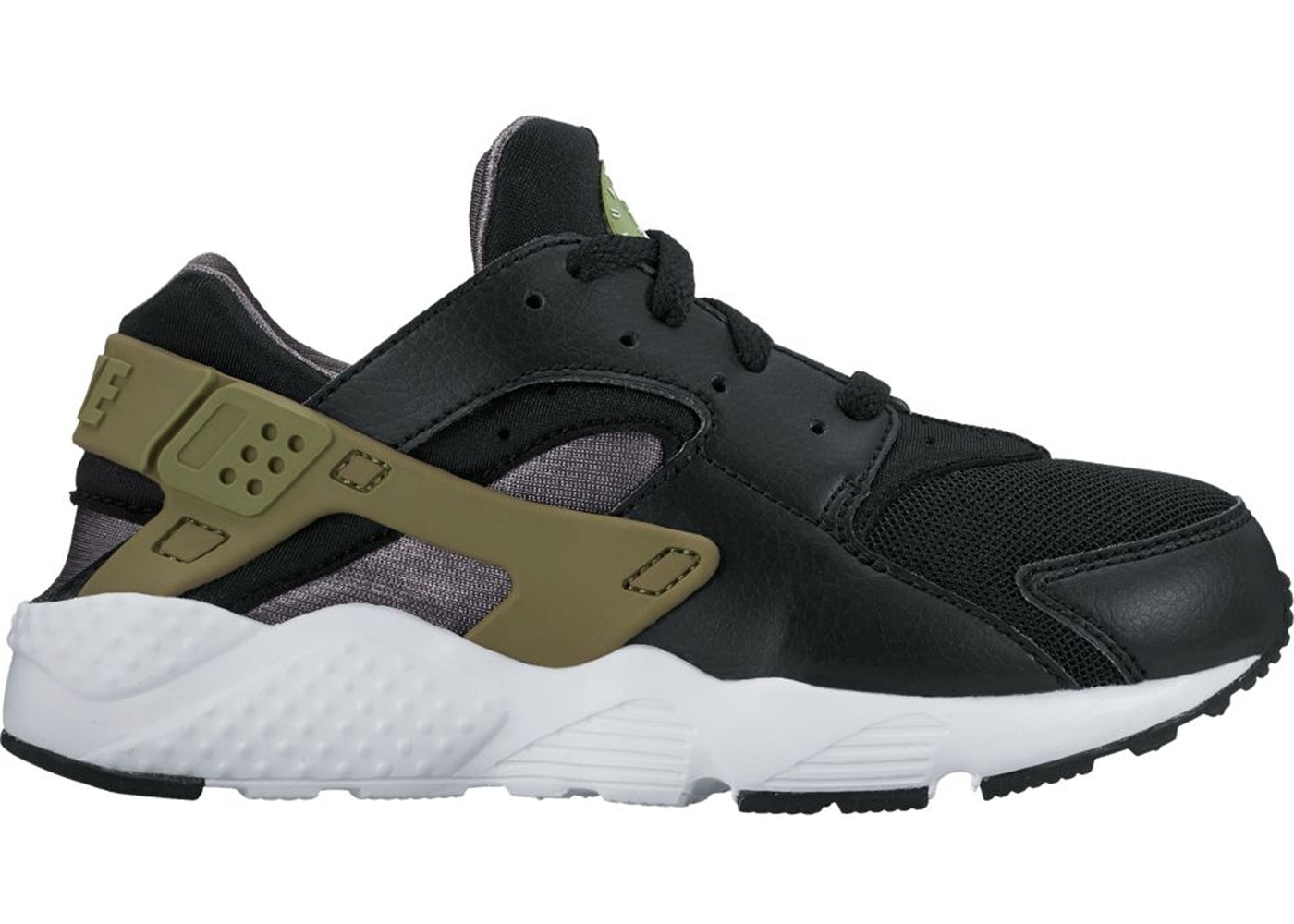 super popular e981f 729d8 Air Huarache Run Black Palm Green Dark Grey (PS) - 704949-023