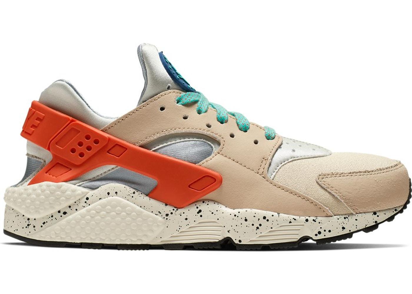 ritmo ella es Problema  Nike Air Huarache Run Desert Ore Hyper Jade - 704830-204