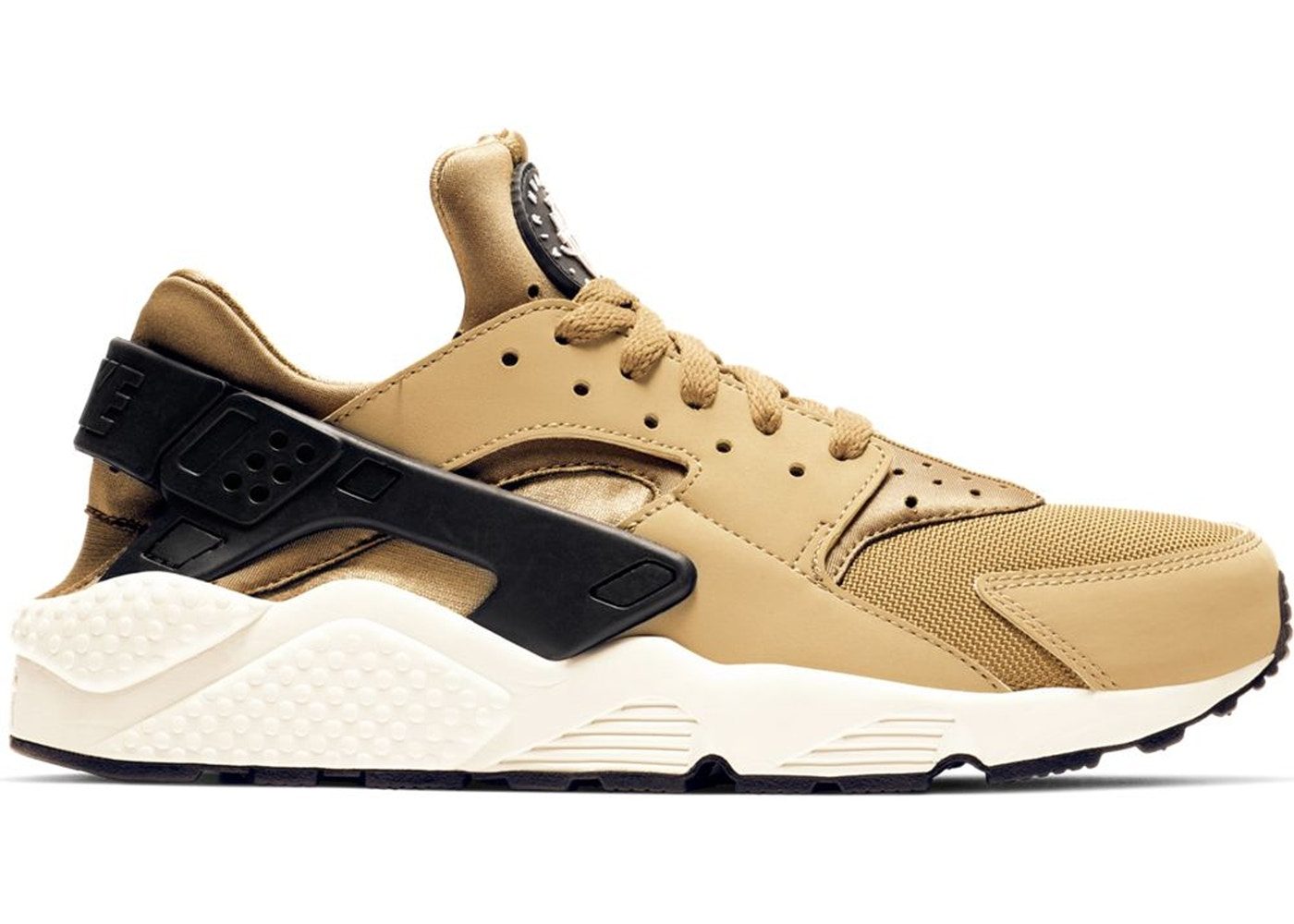 Air Huarache Run Golden Beige Parachute Beige - 318429-205