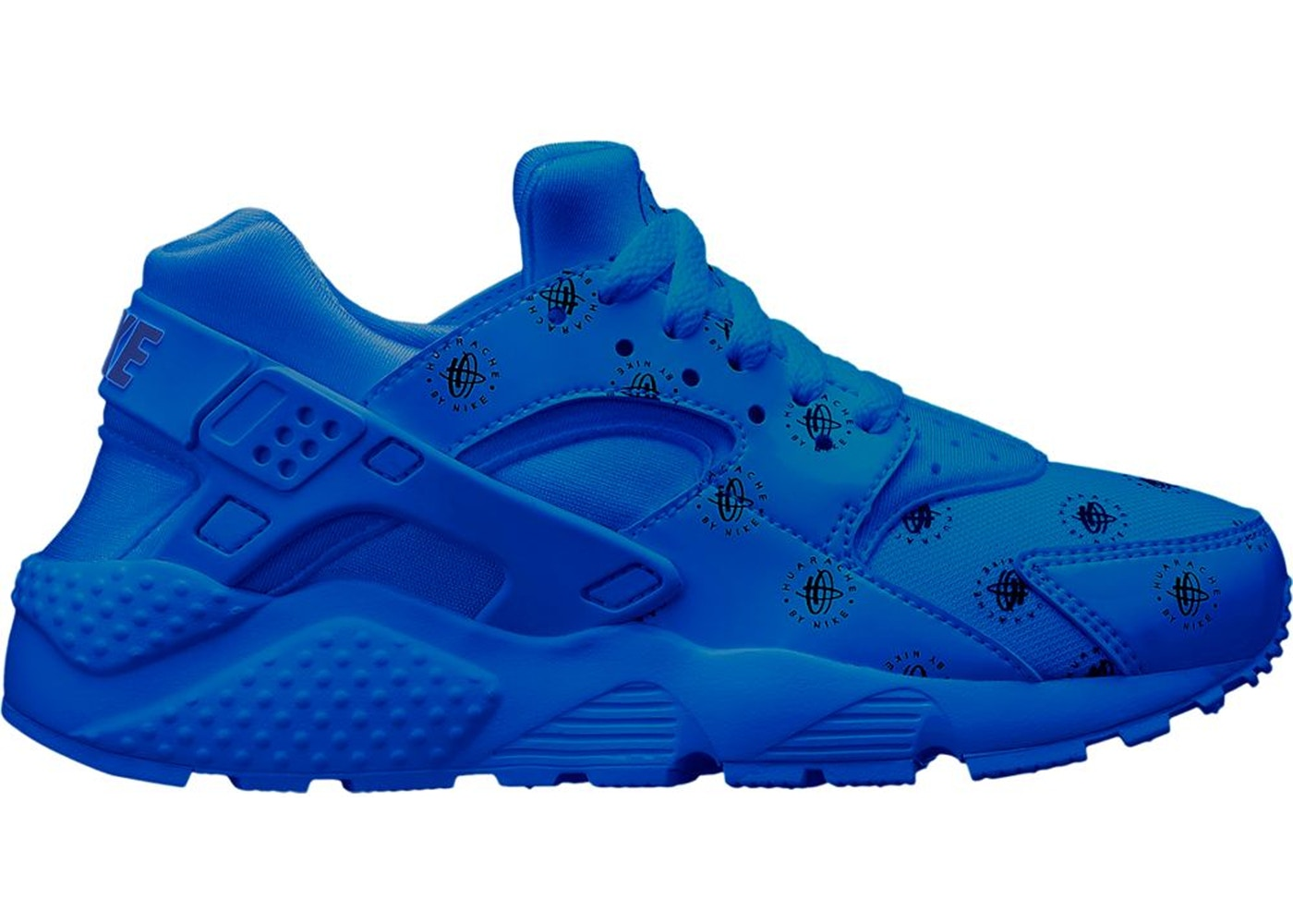 437814fd Air Huarache Run Logos Royal Blue (GS) - 909143-401