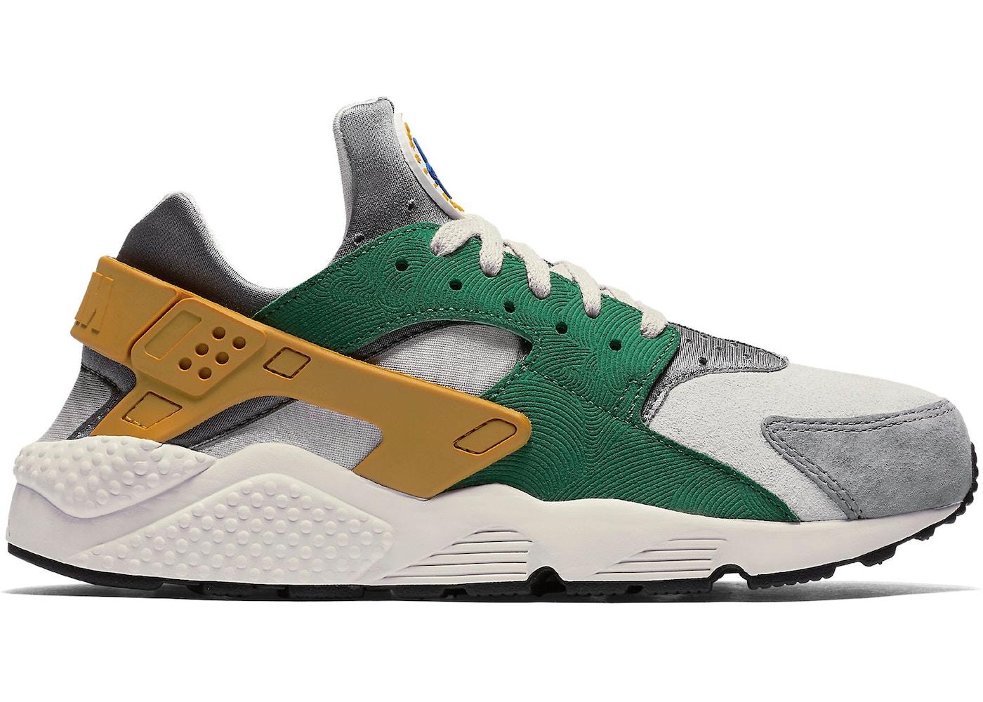 historia Detener malla  Nike Air Huarache Run Pine Green Gold Leaf - 852628-300