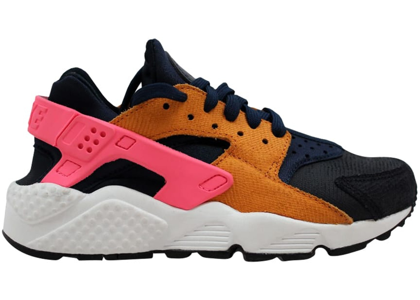 9a9c8273ed98 Sell. or Ask. Size  10W. View All Bids. Nike Air Huarache Run Premium  Obsidian Black-Sunset-Digital Pink ...