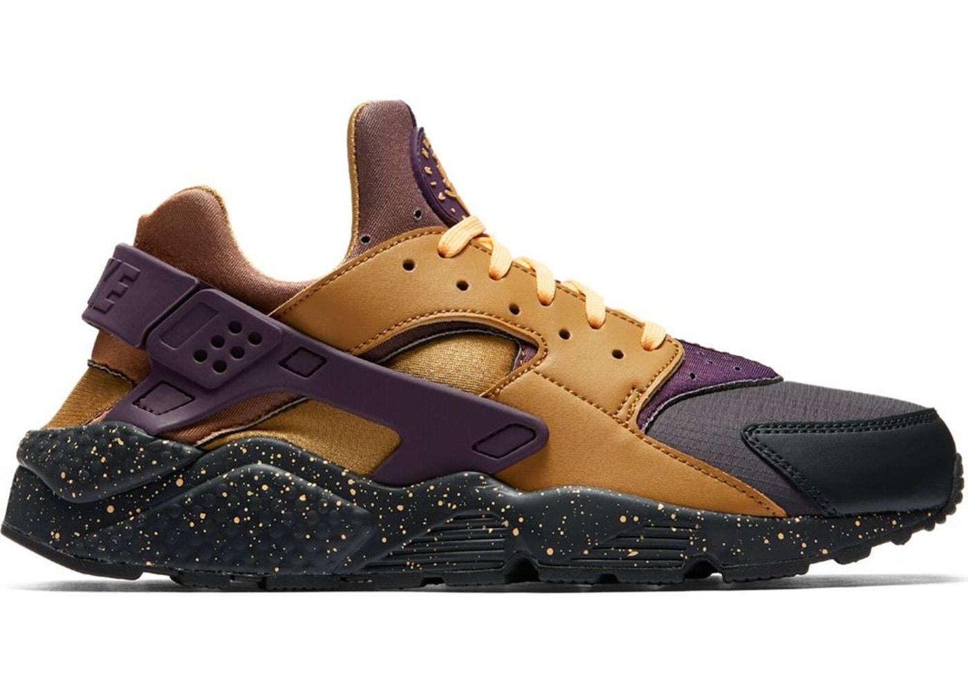 81505b276452 Air Huarache Run Pro Purple Elemental Gold - 704830-012