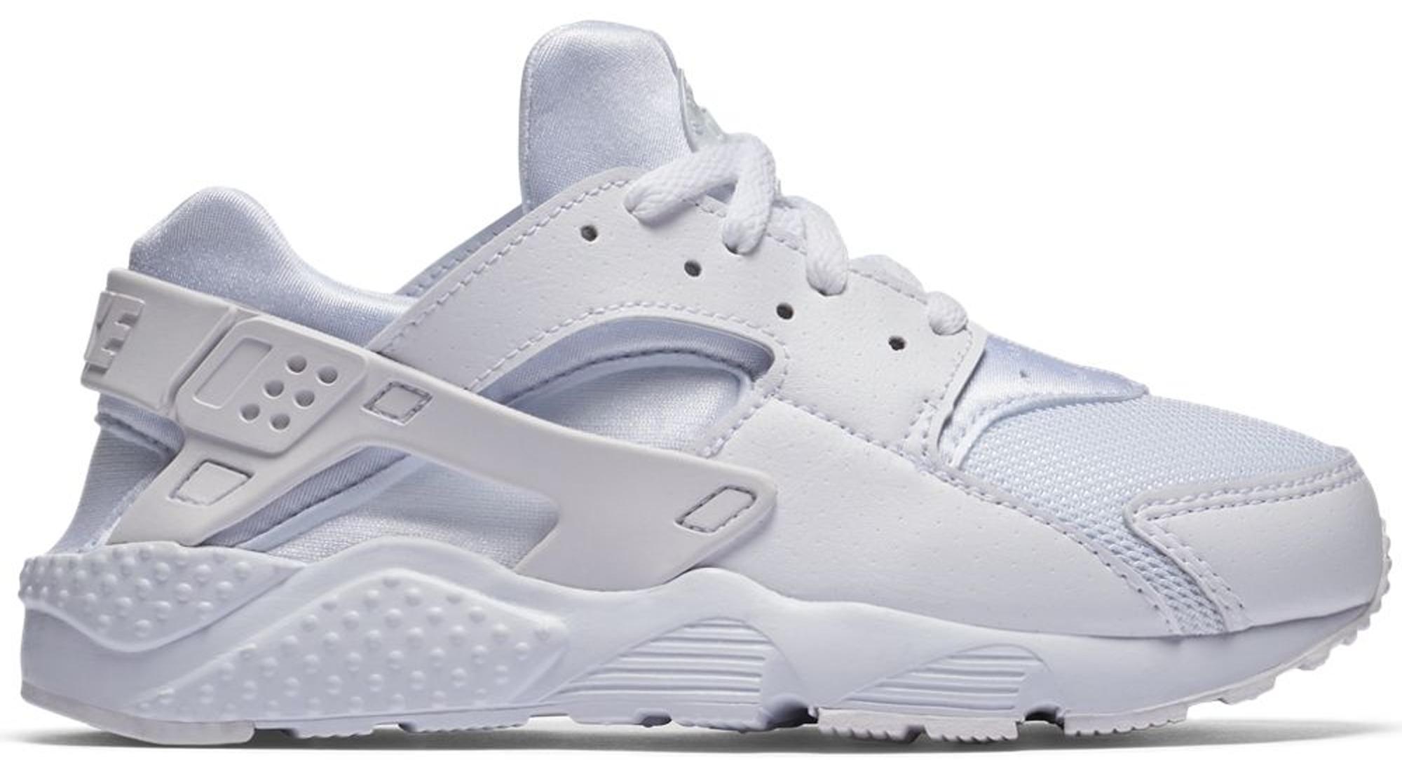 Nike Air Huarache Run Triple White (PS