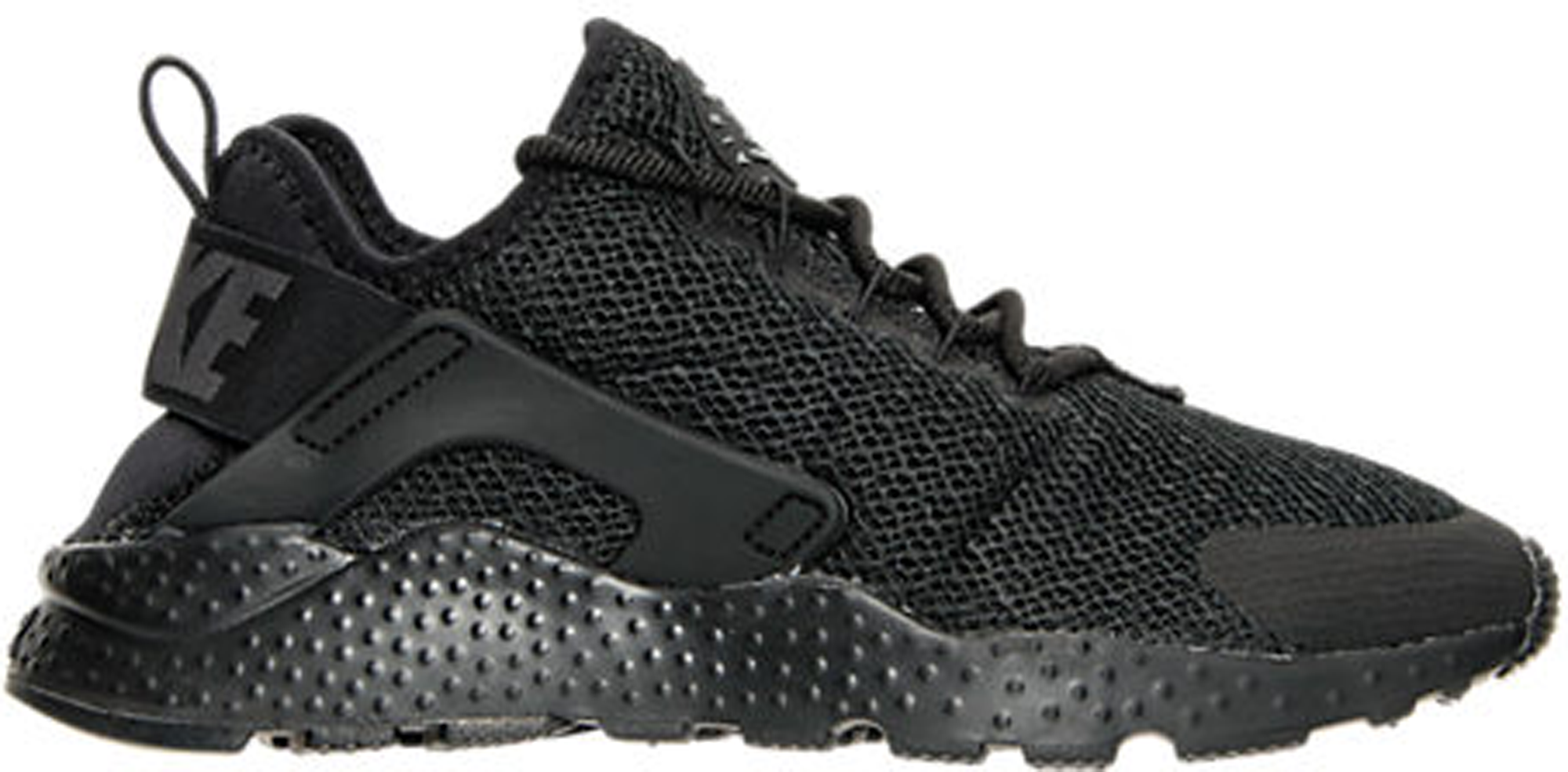 nike air huarache womens shoe; air huarache run ultra black (w)