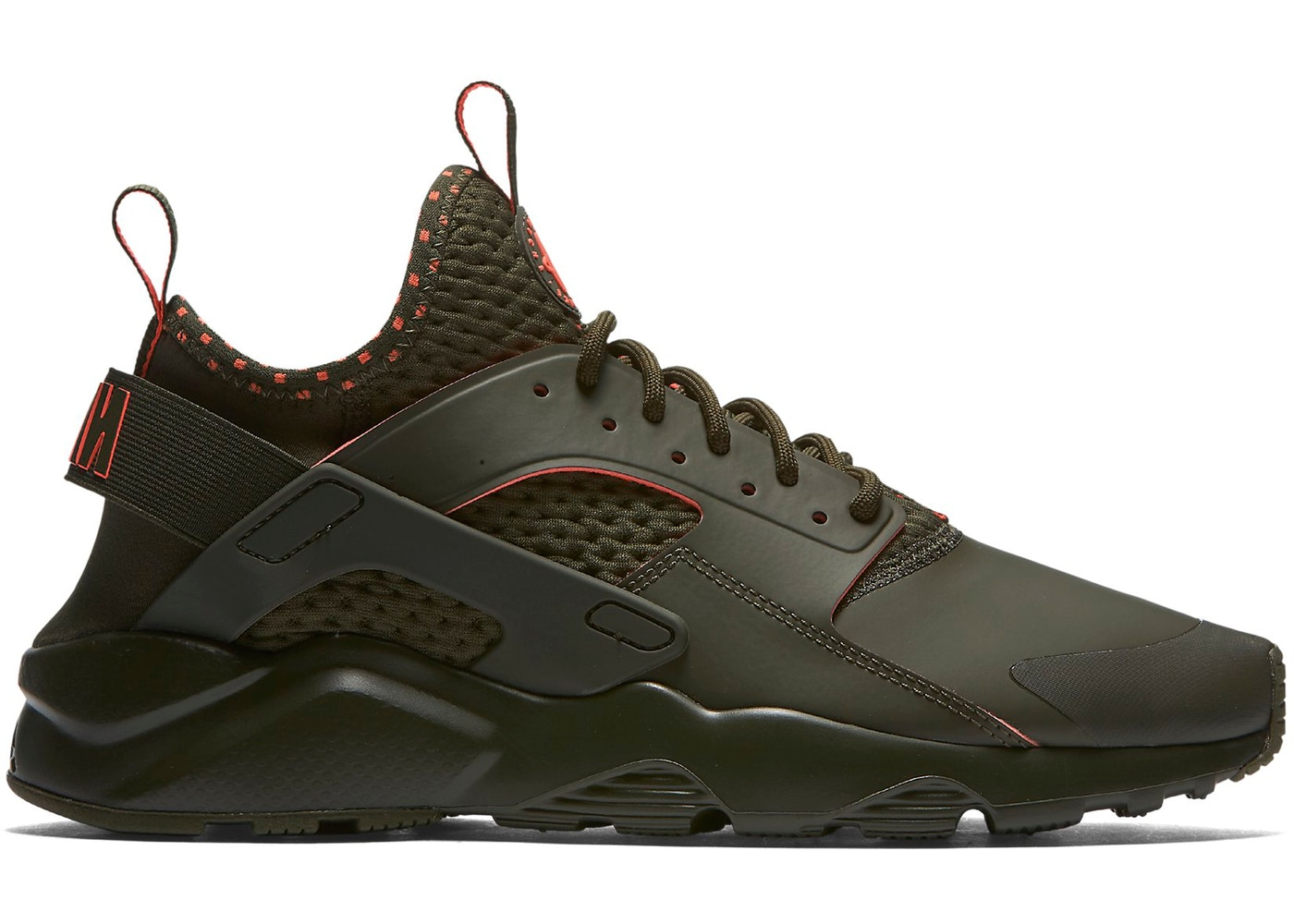 1c68fd69fcfe Air Huarache Run Ultra Cargo Khaki Crimson - 875841-301