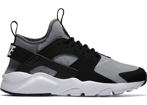 Nike Air Huarache Run Ultra Wolf Grey Black - 819685-010