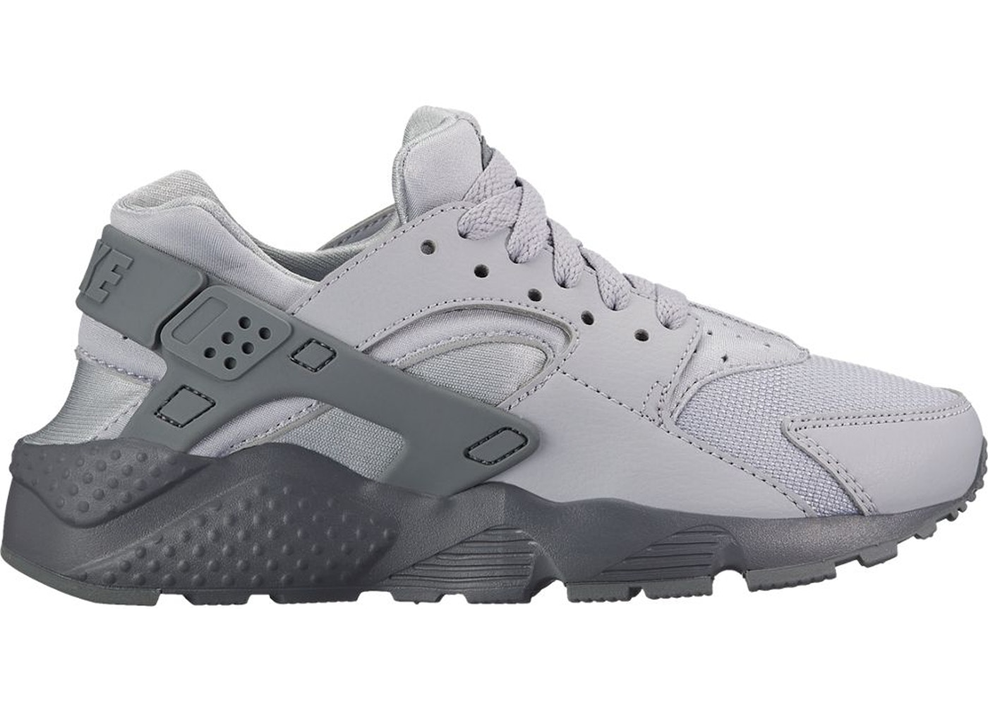 half off c2e84 3a610 Air Huarache Run Wolf Grey Cool Grey (GS) - 654275-032