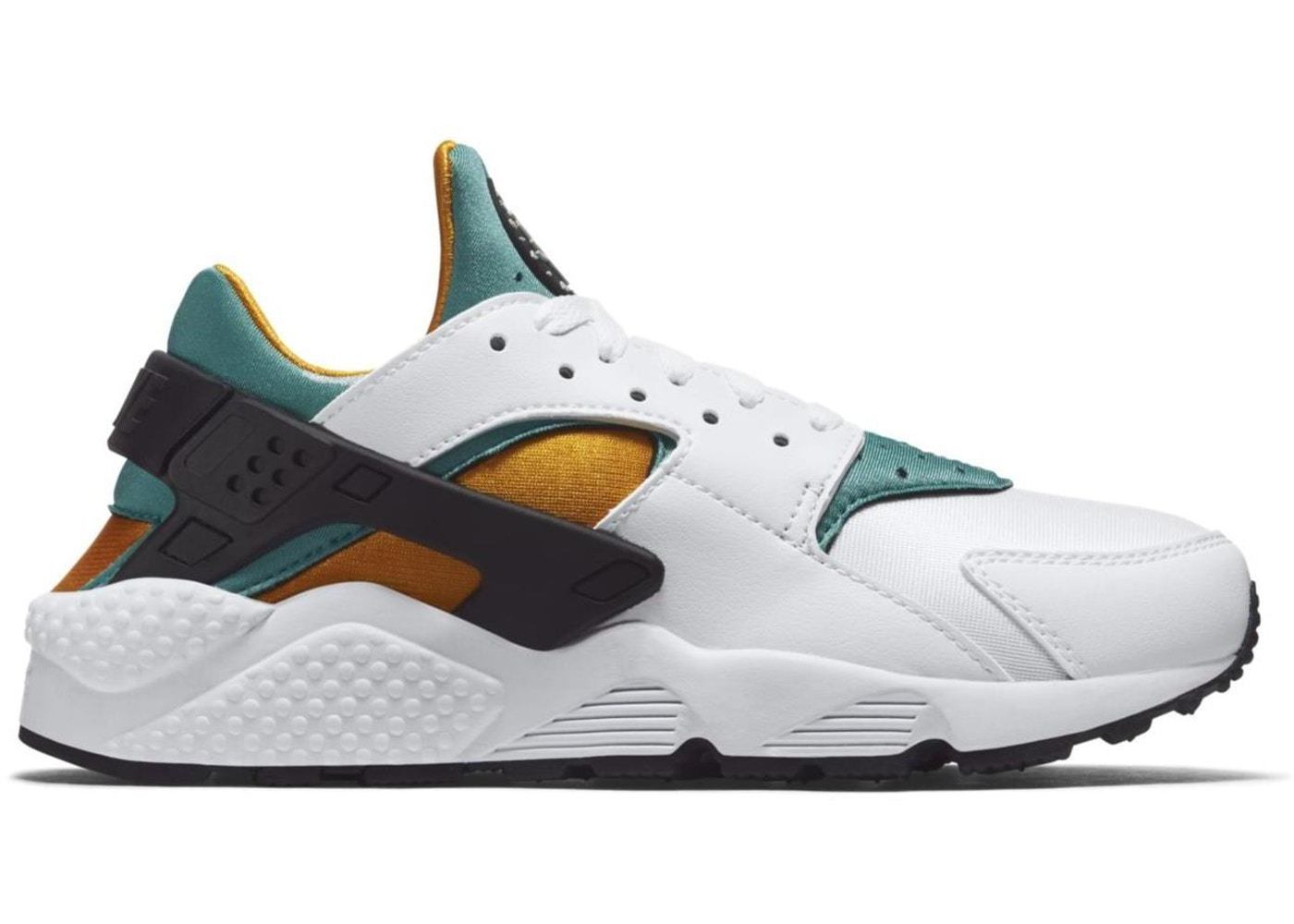 Air Huarache White Turquoise Gold - 318429-137 427dc0575c1d