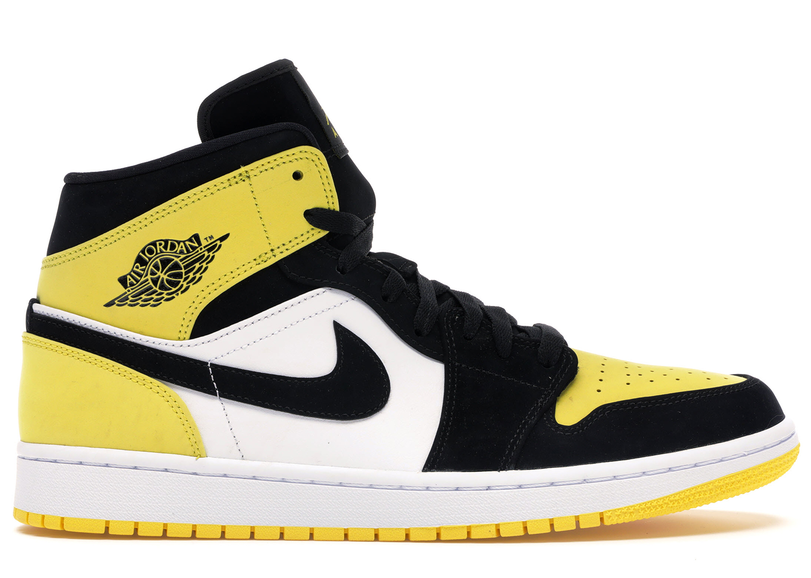 Nike Air Jordan 1 Mid | 554724 129 | White | Sneakers | Skor