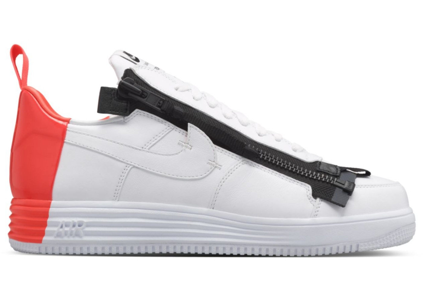 Lunar Force 1 Low Acronym Bright Crimson