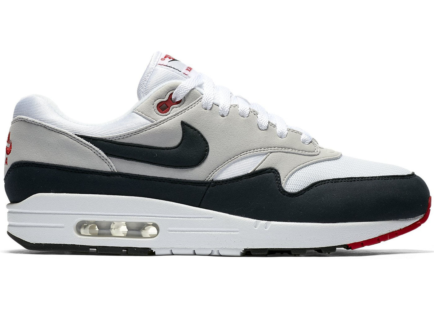 new arrival 4e7b8 9be59 Air Max 1 Anniversary Obsidian - 908375-104