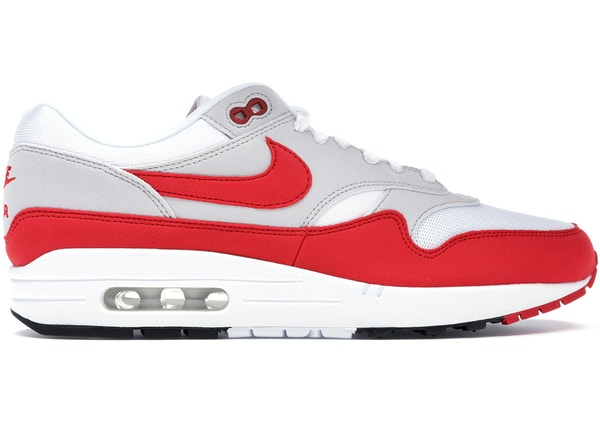 reputable site 50c98 ca3e0 Air Max 1 Anniversary Red (2017 2018 Restock Pair) - 908375-103