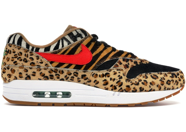 watch e25fa ee46a Air Max 1 Atmos Animal Pack 2.0 (2018 All Black Box)