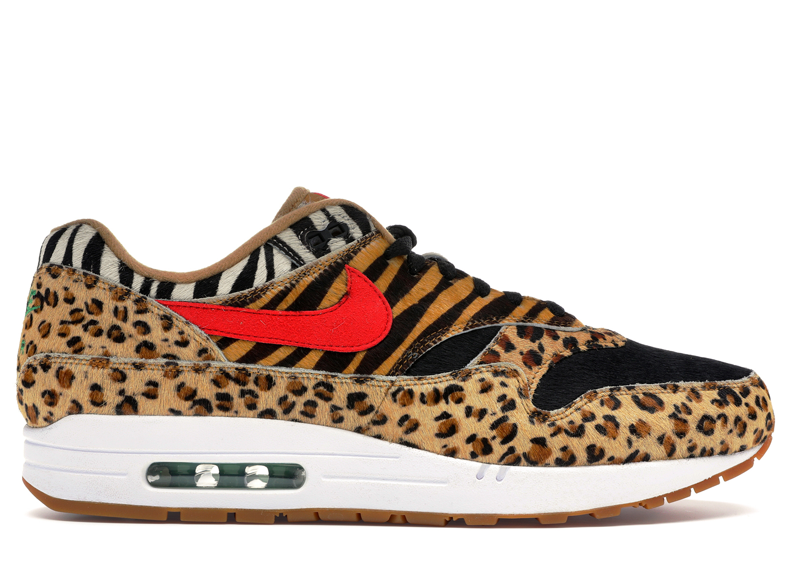 "atmos x Nike Air Max 1 ""Animal Pack 2.0"" WhiteSport Red"