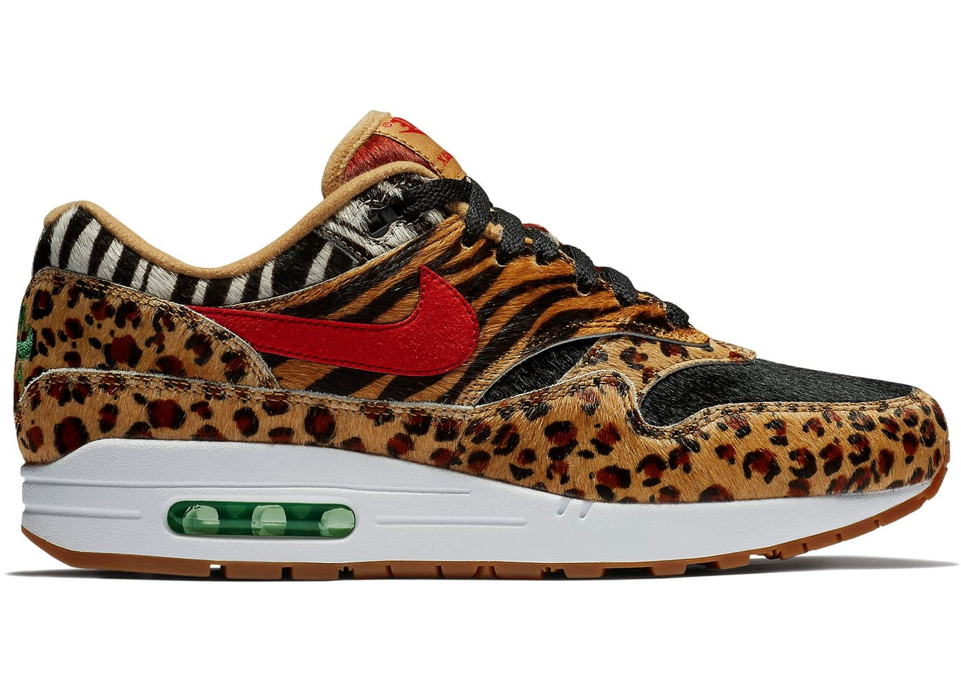 new style f6a01 85ce9 Air Max 1 Atmos Animal Pack 2.0 (2018 Black Box)