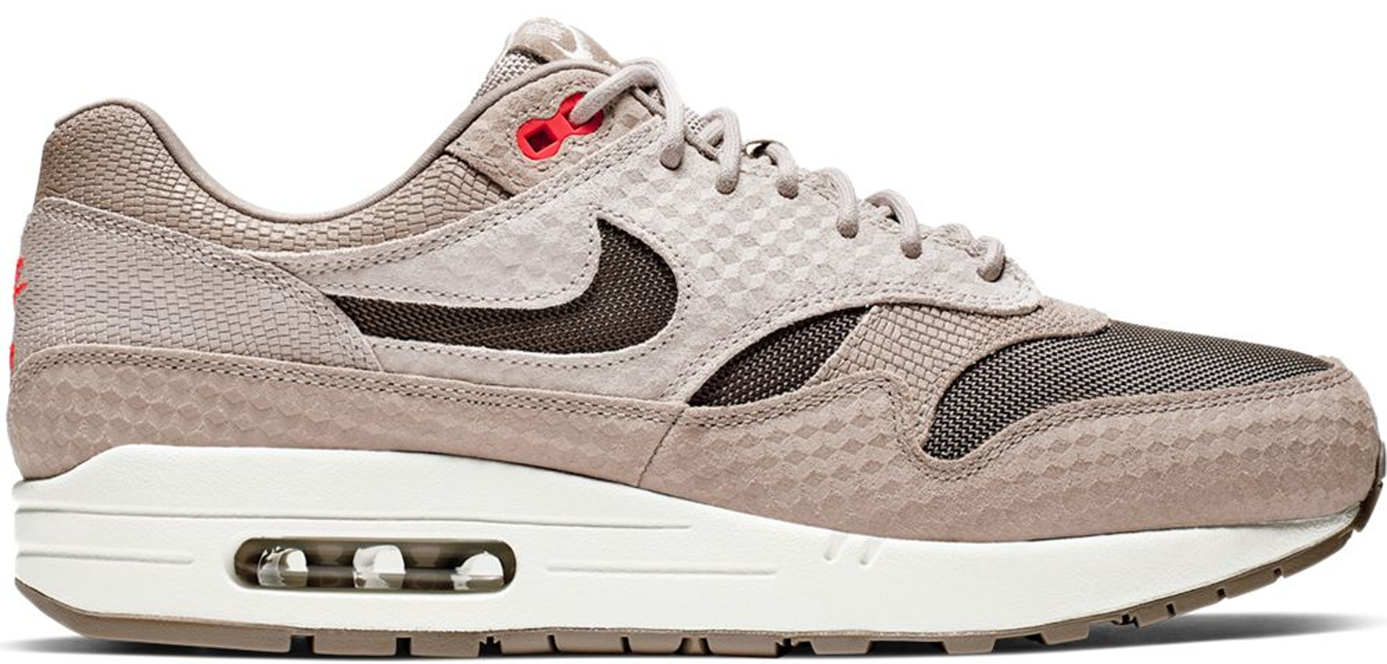 Pre-owned Nike Air Max 1 Cut Out Swoosh