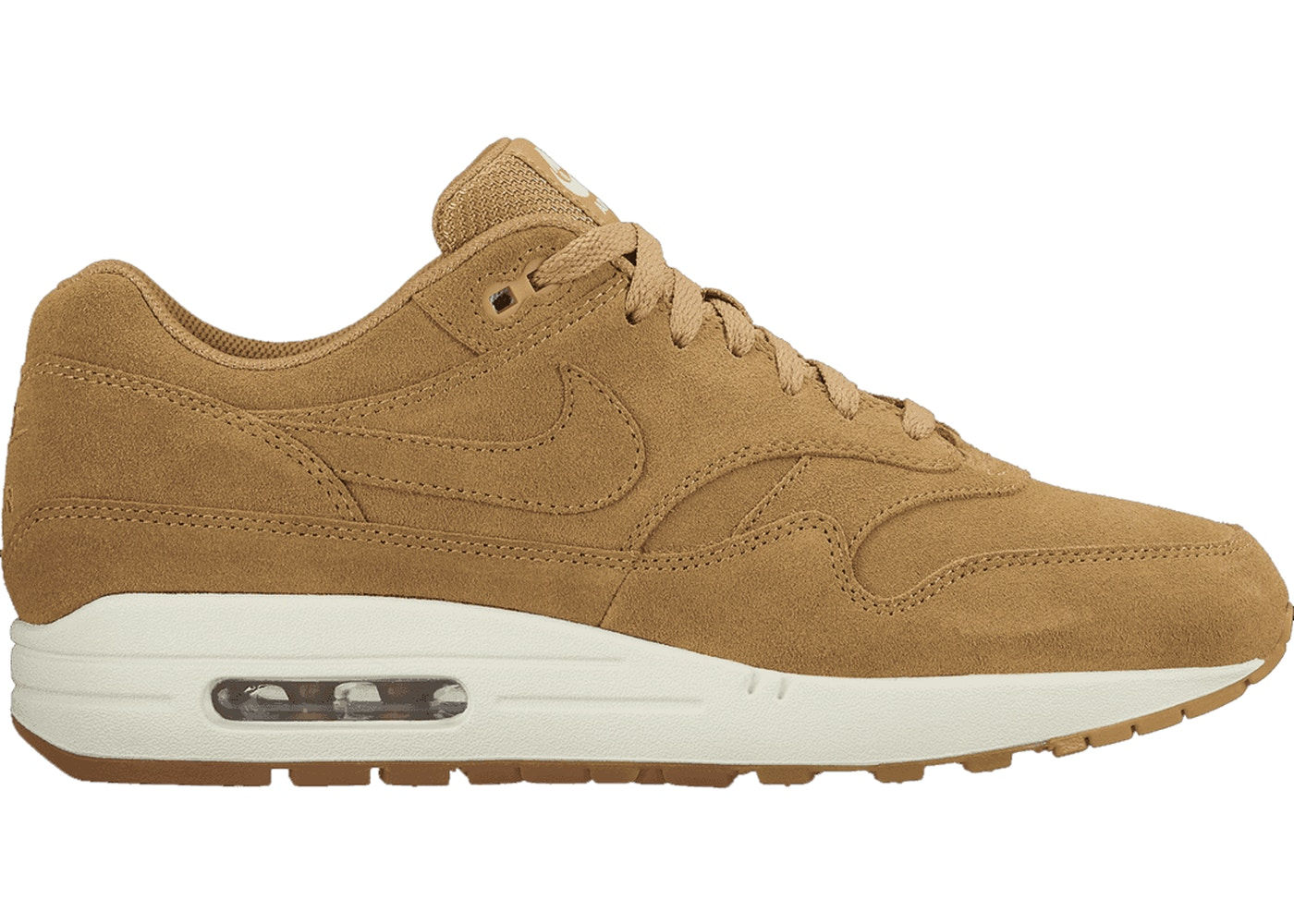nike air max 1 flax for sale