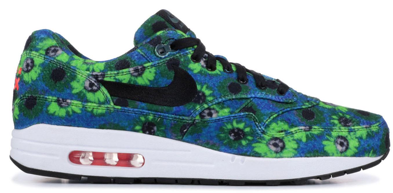 Nike Air Max 1 Floral Mowabb Volt