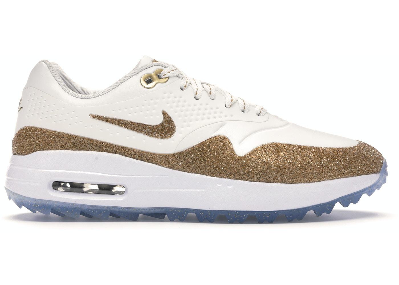 Commerce Body stimulate  Nike Air Max 1 Golf Swarovski (W) - BV0658-111