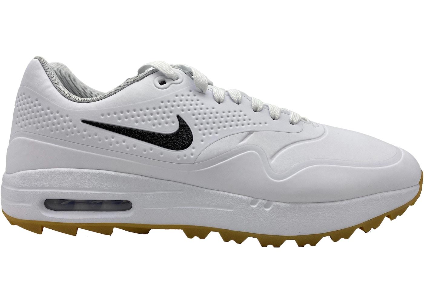 Air Max 1 Golf White Gum Black Swoosh Aq0863 101blackswoosh