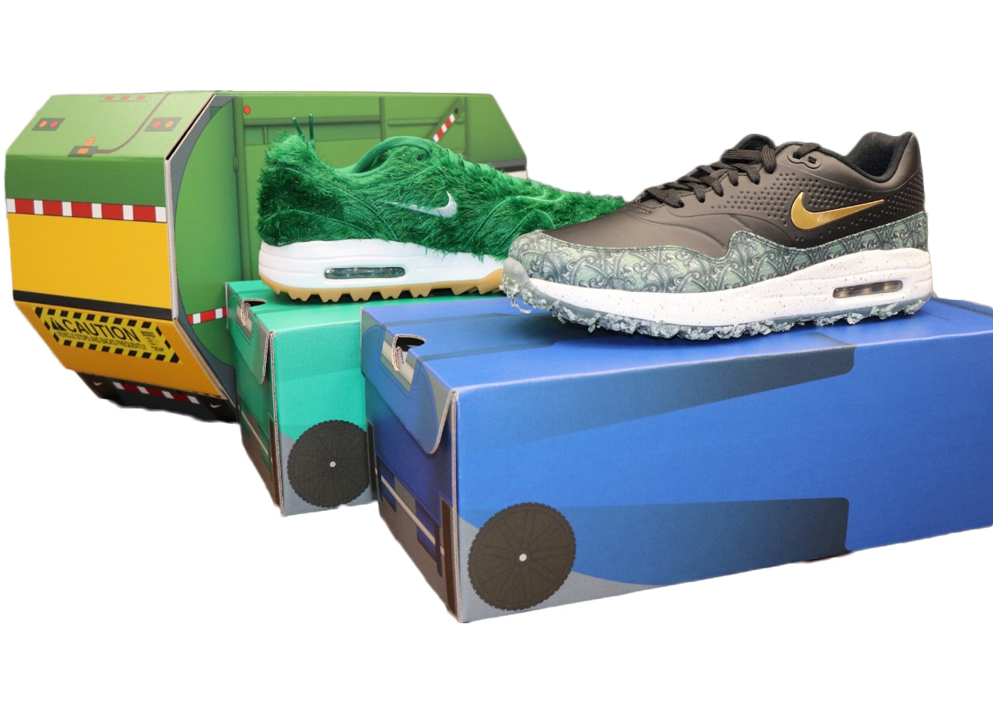34486100f6 Air Max 1 Golf Lawn Party Pack - BQ4804-300/BQ4804-001