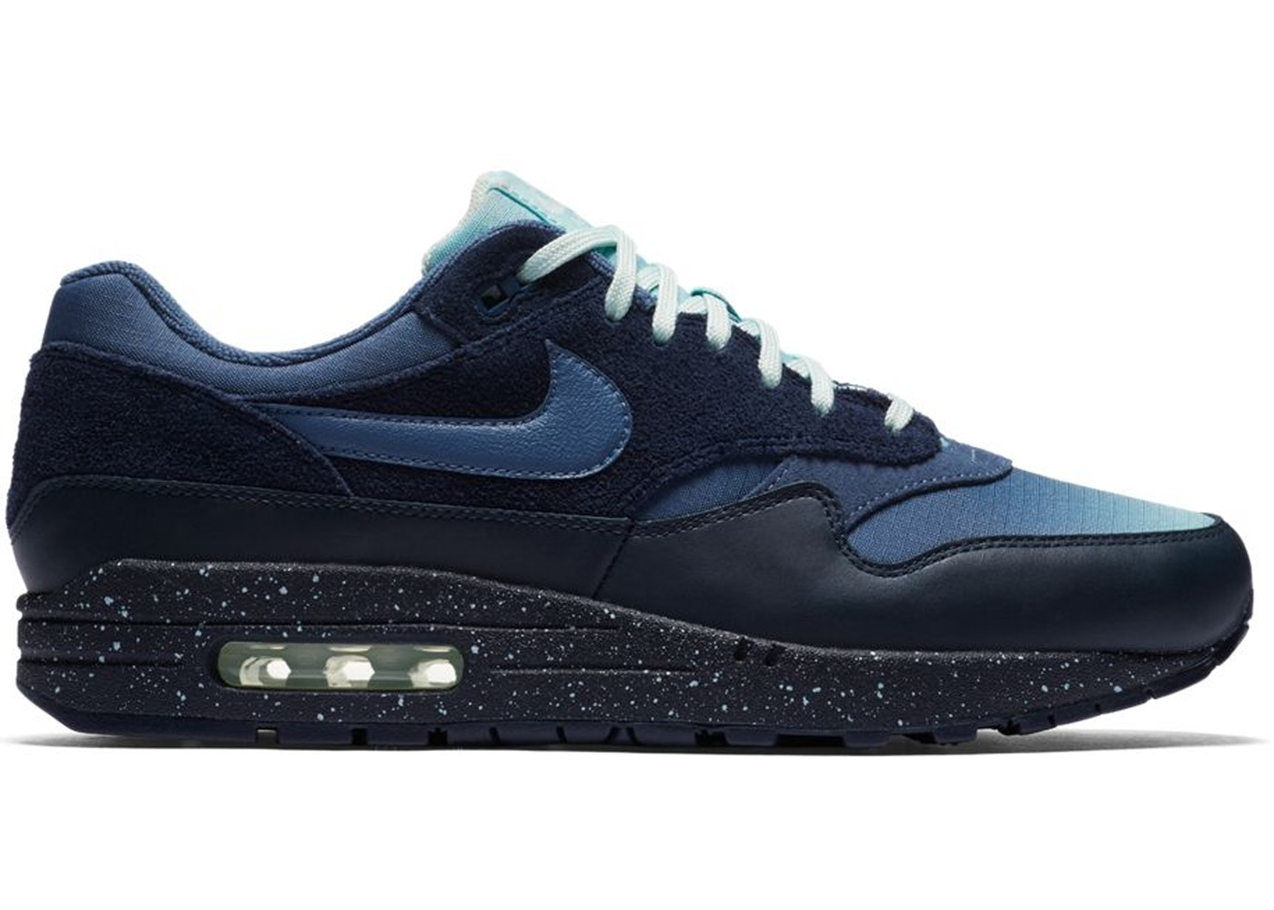 Air Max 1 Gradient Toe Obsidian