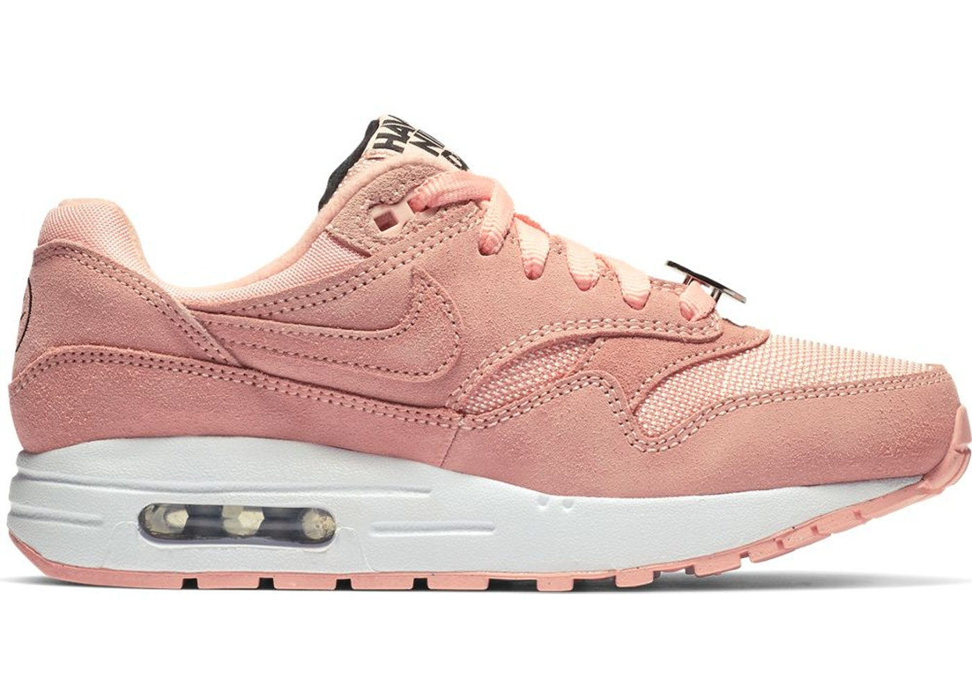closer at recognized brands 100% quality Air Max 1 Have a Nike Day Bleached Coral (GS)