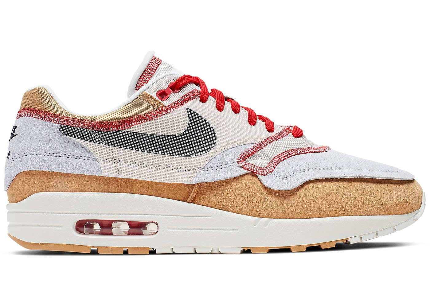 best sneakers c84c9 456b9 Air Max 1 Inside Out Club Gold Black - 858876-713