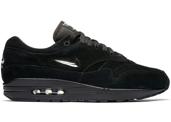 buy online 52fe6 e9ee3 Air Max 1 Jewel Black Chrome - 918354-005