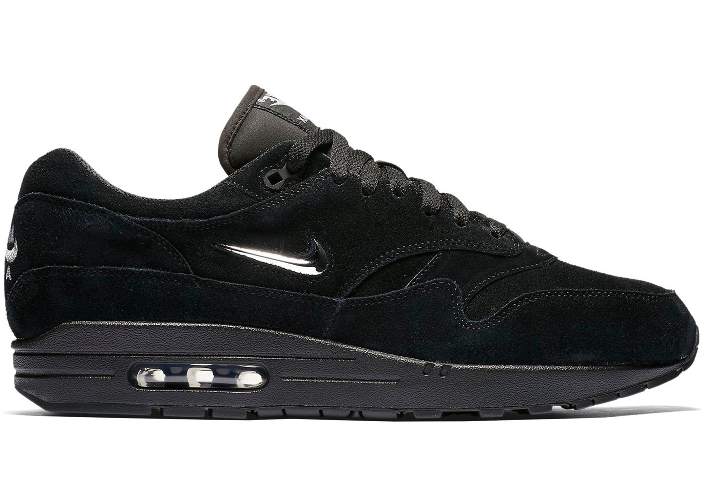 HypeAnalyzer · Air Max 1 Jewel Black Chrome
