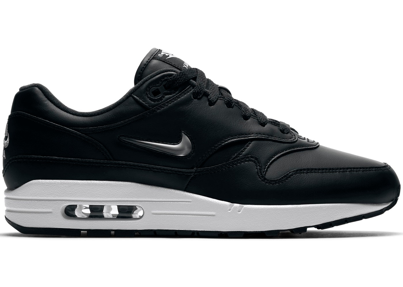 air max 1 jewel black and white
