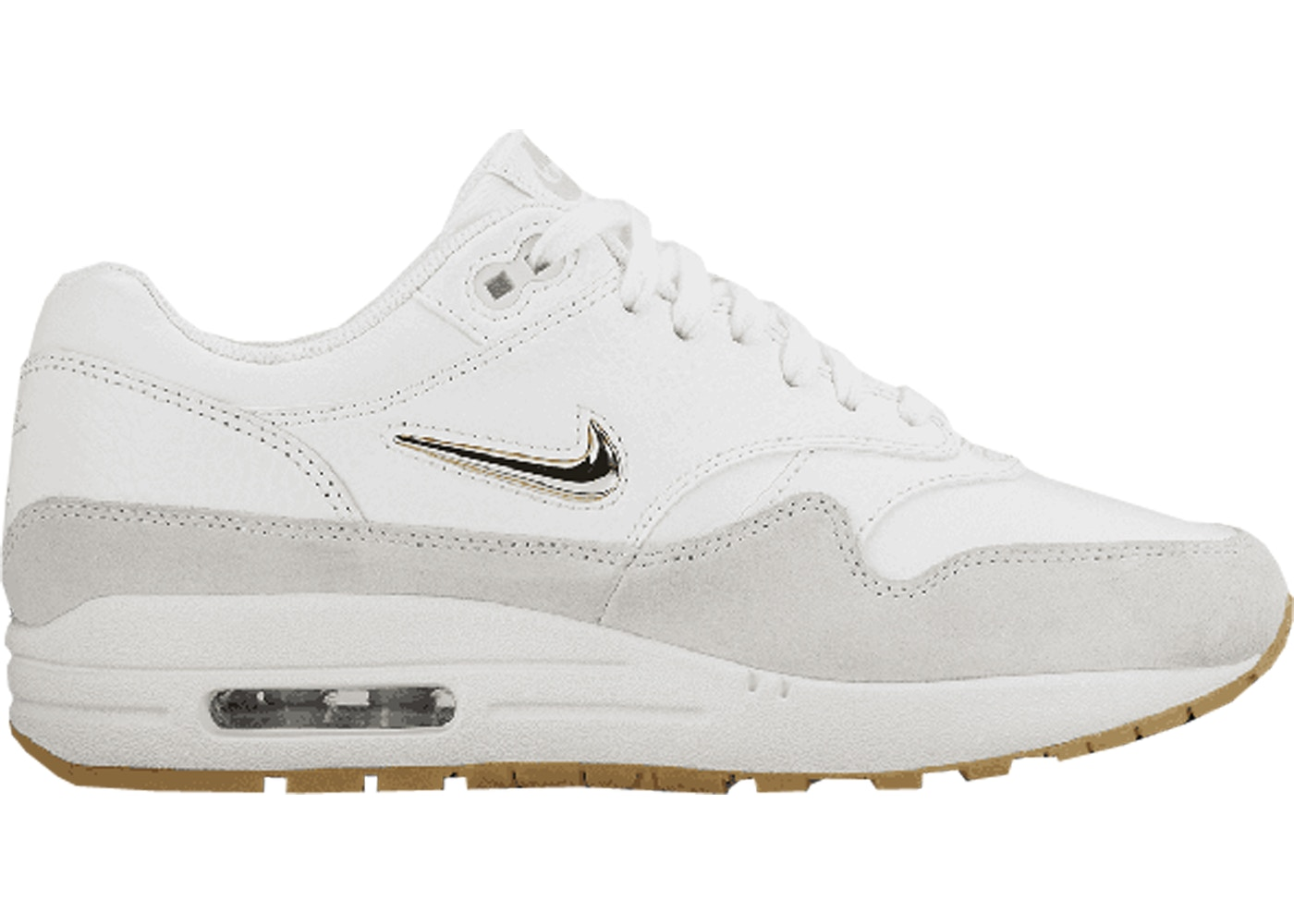 best sneakers 5635d f1a8d Air Max 1 Jewel Summit White (W)