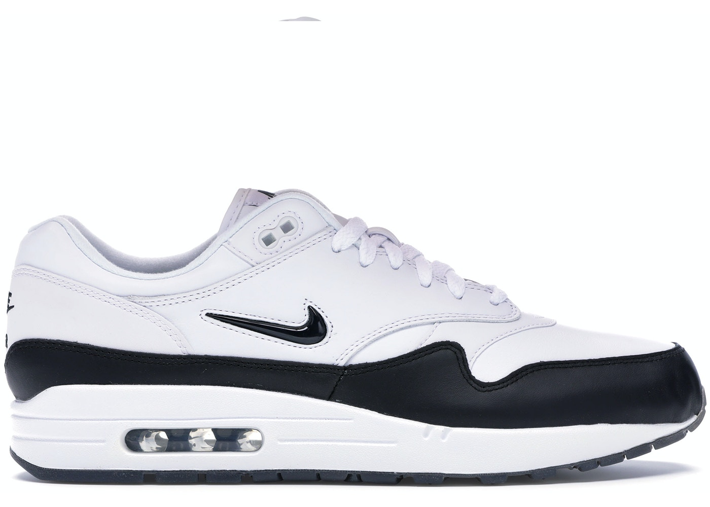 cheap for discount c70f5 f9931 Air Max 1 Jewel White Black (2017) - 918354-100