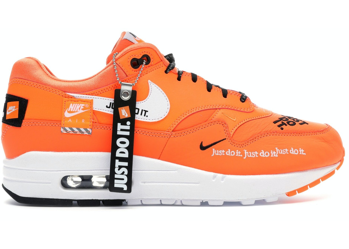 watch 335c2 61348 Air Max 1 Just Do It Orange (W) - 917691-800