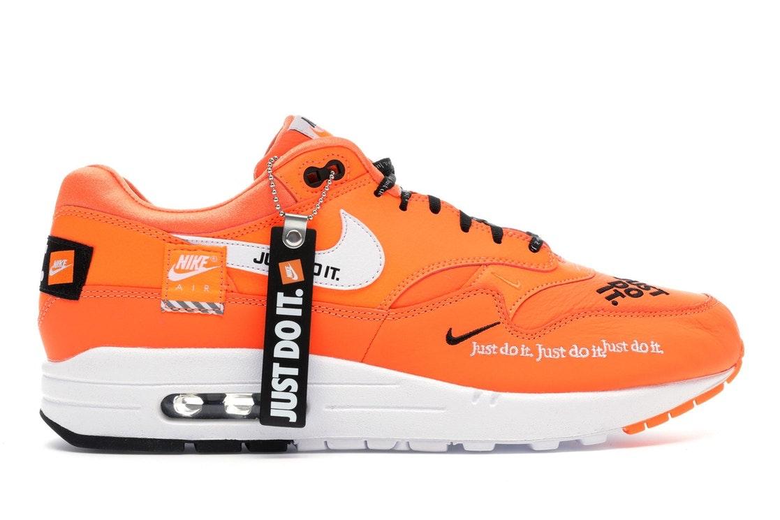 Air Max 1 Just Do It Pack Orange