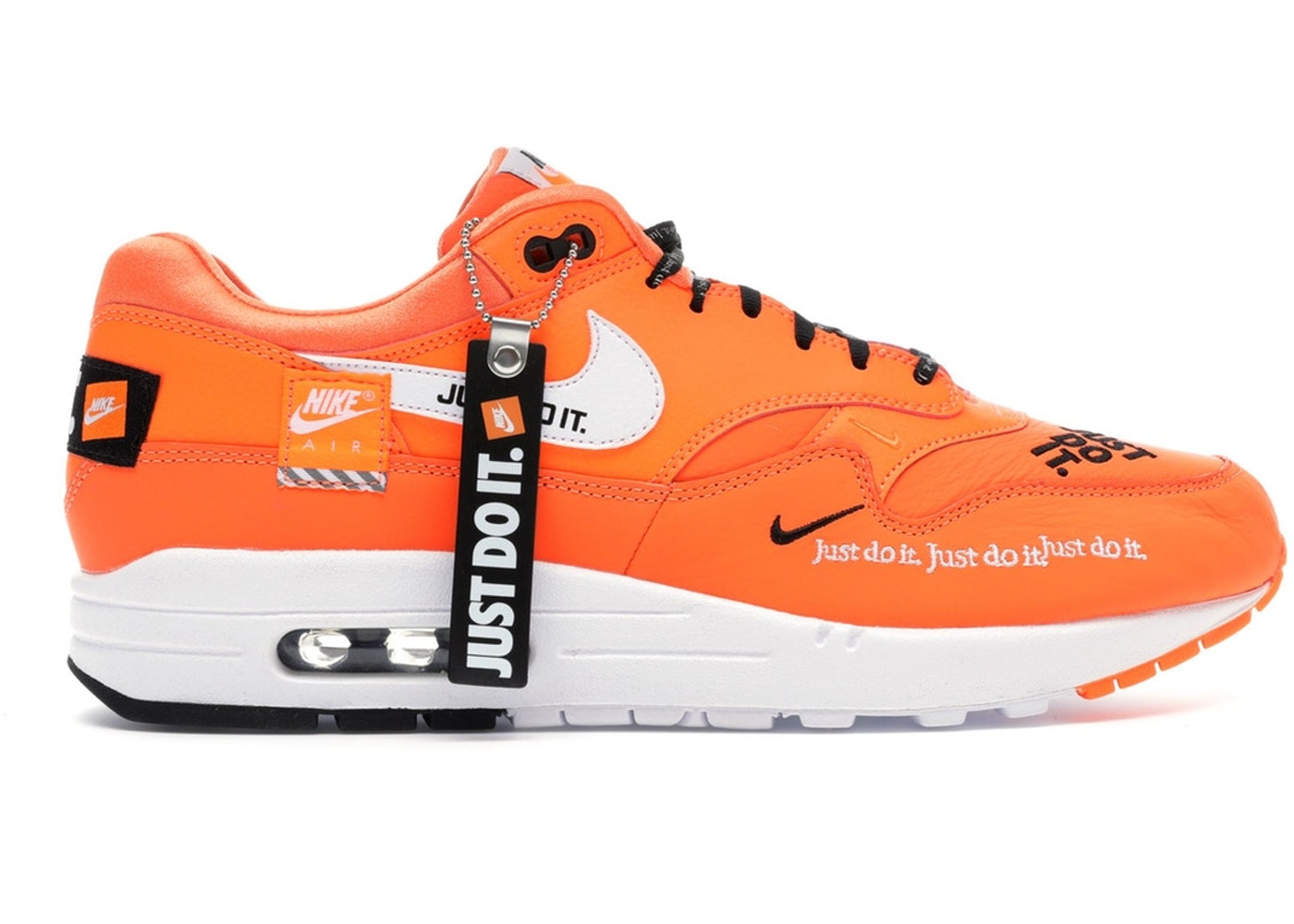online retailer 2e43b 81269 Sell. or Ask. Size 14. View All Bids. Air Max 1 Just Do It Pack Orange