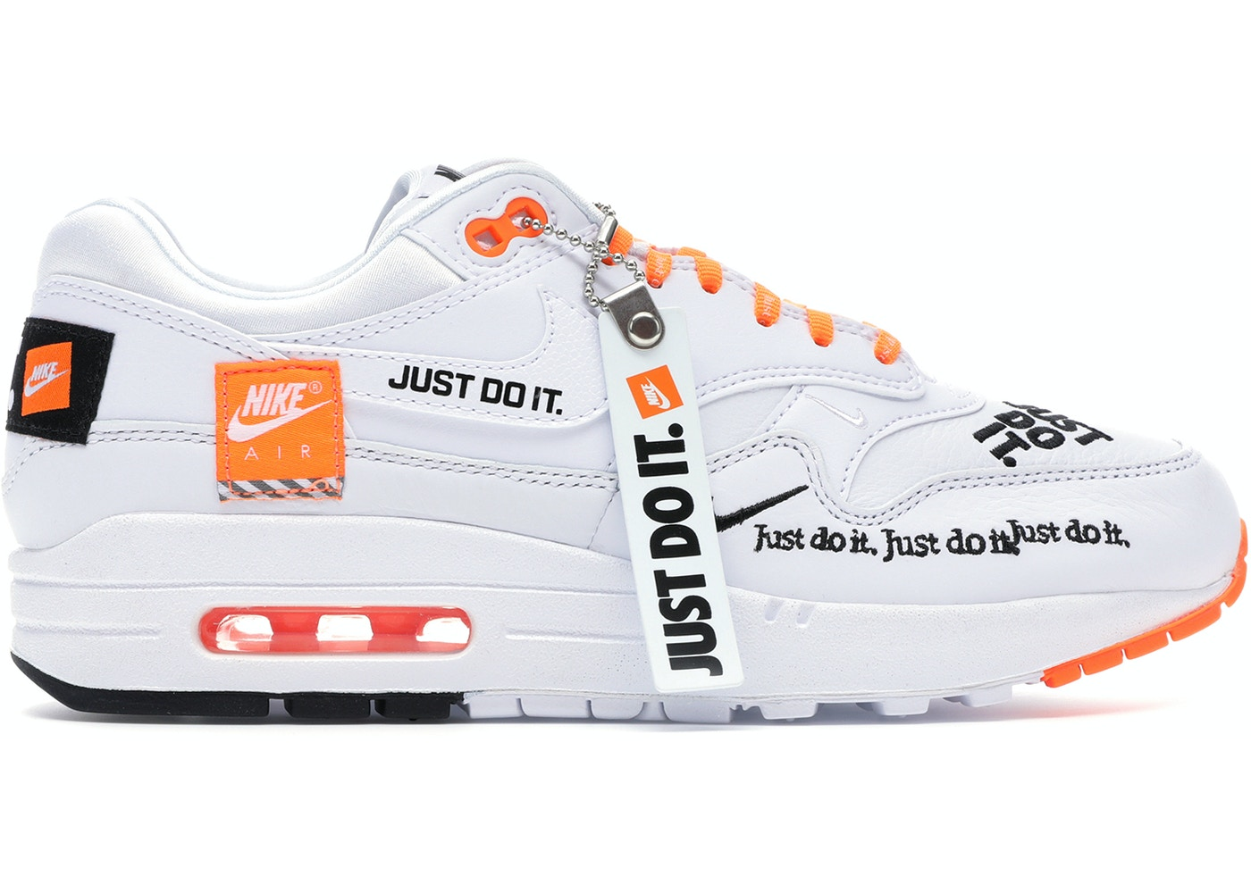 038ef49d8e7 Air Max 1 Just Do It White (W) - 917691-100