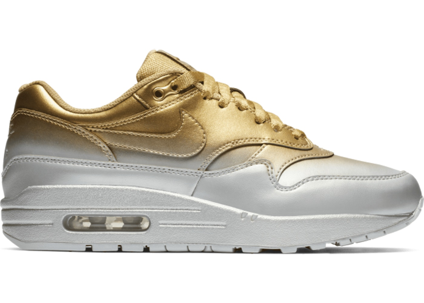 pretty nice 428e8 34e8b Air Max 1 LX Metallic Gold Metallic Platinum (W) - 917691-700