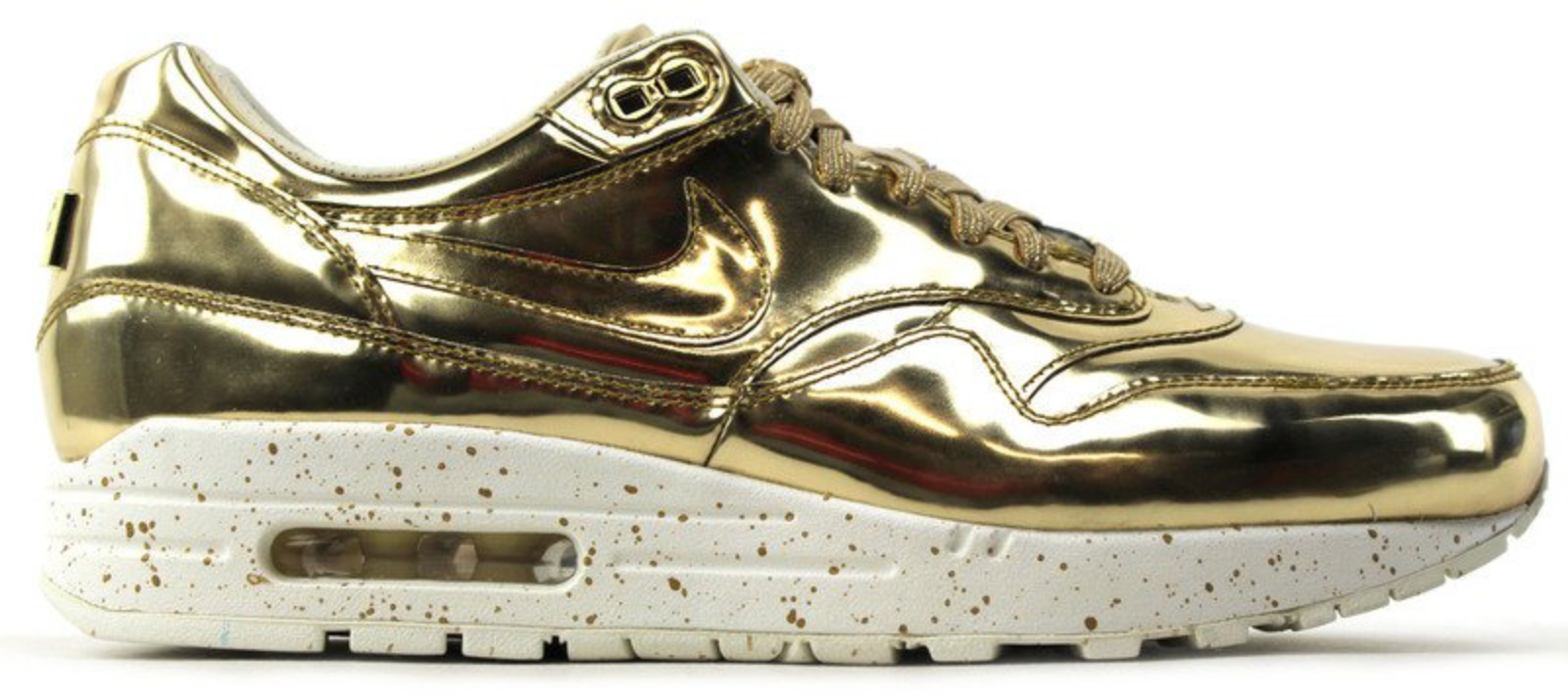 nike womens air max liquid gold