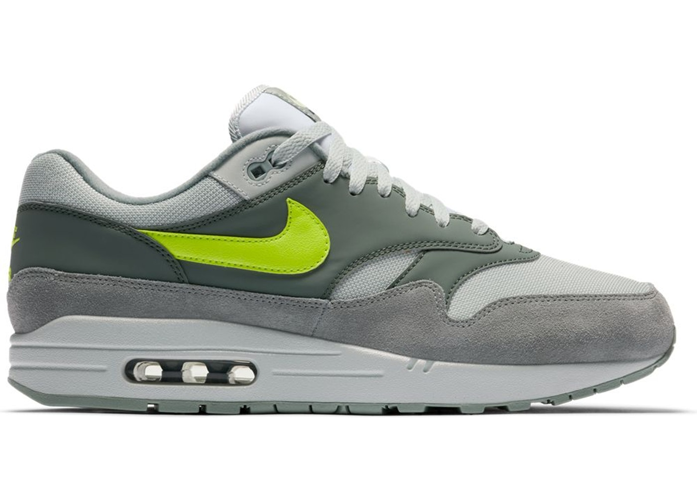 Nike Air Max 1 in Grey & Volt | HYPEBEAST