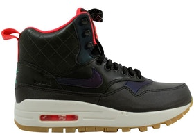 new york 66a61 9094b Nike Air Max 1 Mid Sneakerboot Reflect Sequoia Black-Bright Crimson-Mint  (W) - 807307-300