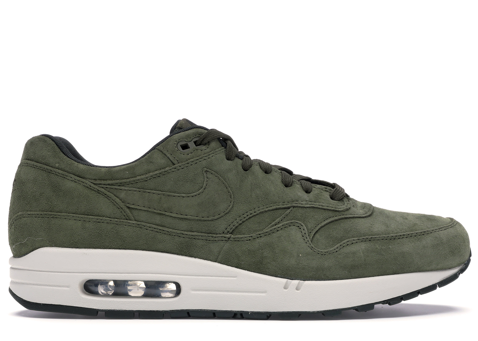 Nike Air Max 1 Olive Canvas Suede
