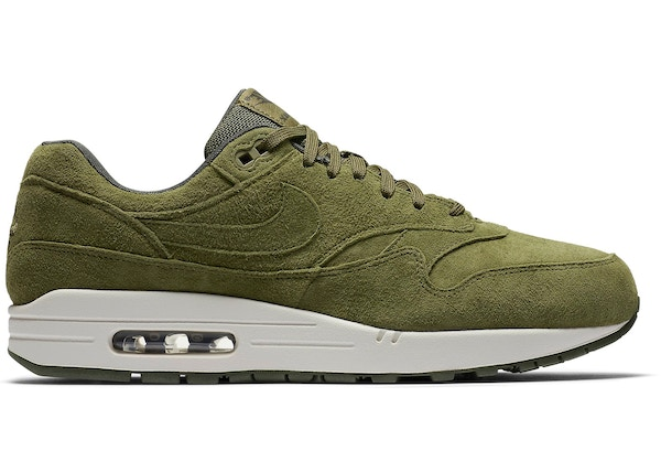 timeless design 4f51f 499e0 Air Max 1 Olive Canvas Suede